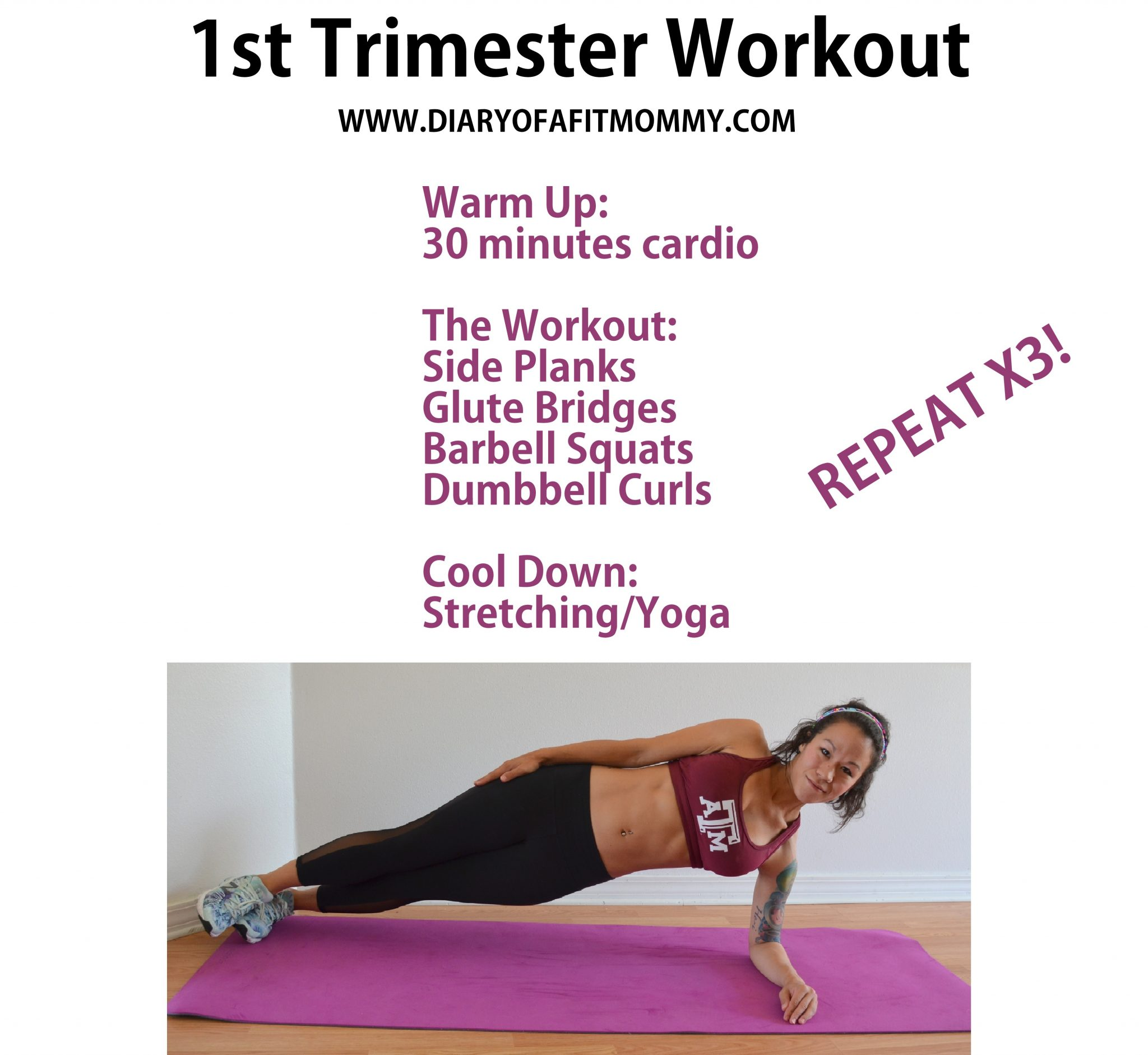 My Favorite Yet Safe First Trimester Pregnancy Workouts Diary Of A Fit Mommy