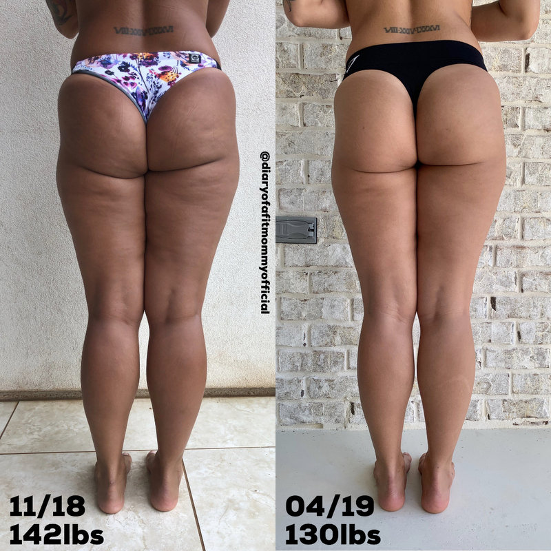 How I Lost The Cellulite Slimmed My Thighs Diary Of A Fit Mommy